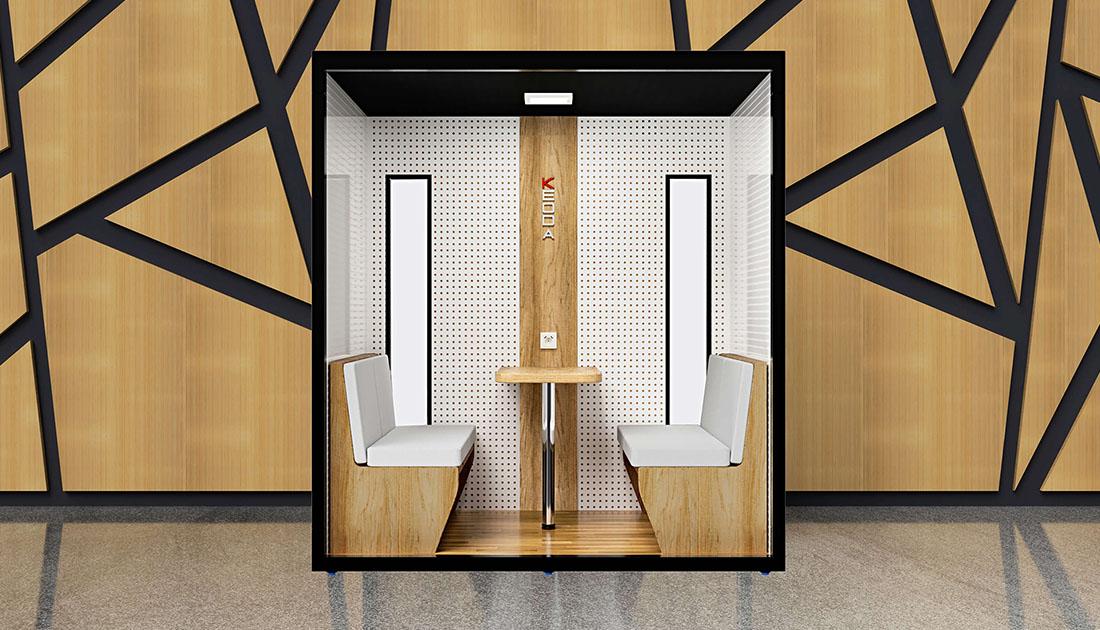 Bürokabine KEODA Quatro - Space open